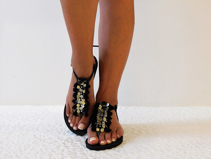 Handmade leather sandals th 2191
