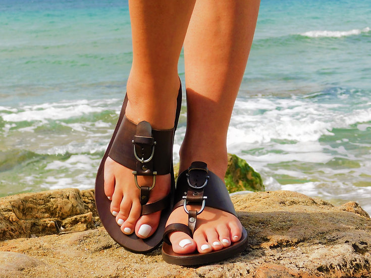 Handmade leather sandals th2095