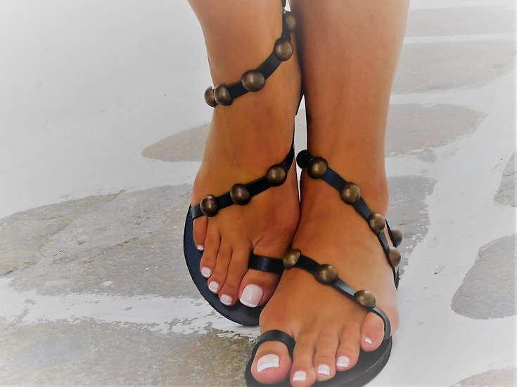 Handmade leather sandals th21