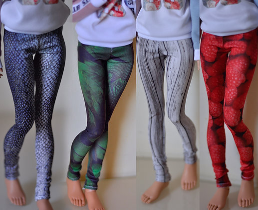 Leggings with print