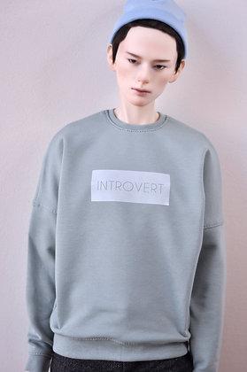 """Introvert"" sweatshirt 70+"