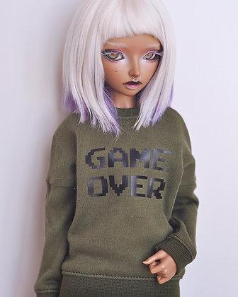 """""""Game Over"""" sweatshirt"""