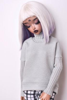 Frosty mint sweater