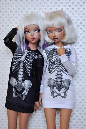 """Skeleton"" dress"