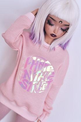 """Pink """"J-Hope""""  sweatshirt"""
