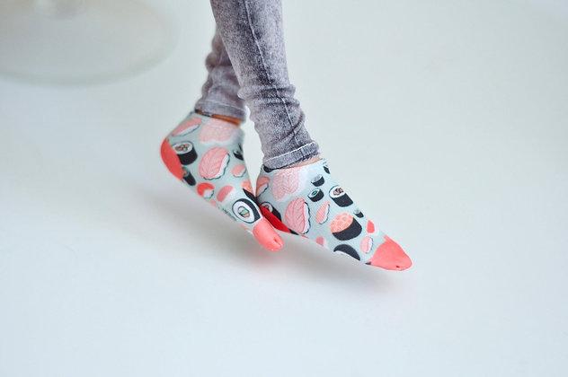 """Sushi"" light socks"