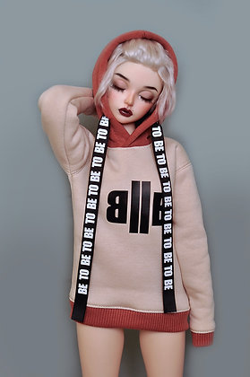 """""""Be To Be"""" hoodie"""