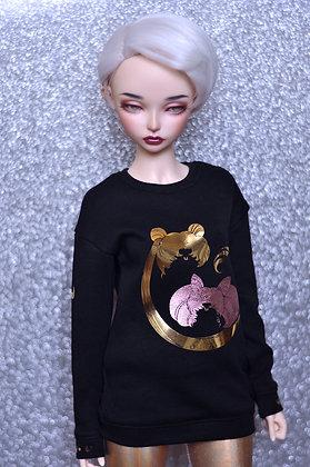 "Black ""ChibiUsa"" sweatshirt"
