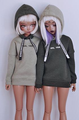 """Oh, yes"" G&S hoodie"