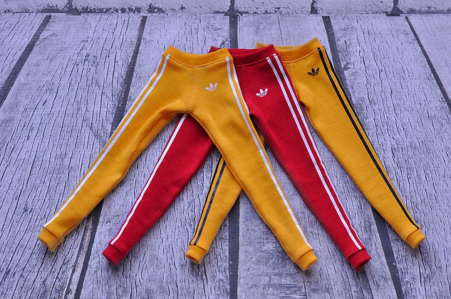 Red and Yellow sports pants