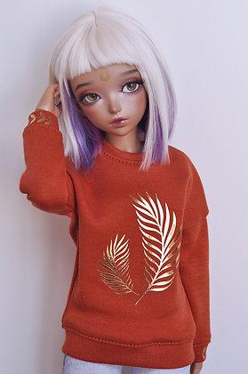 Terracotta sweatshirt