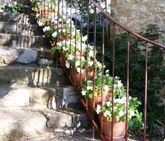 Les escaliers vers la Chambre haute