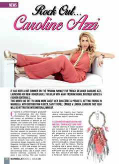 Interview with Designer Caroline Azzi