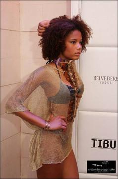 Fashion Show in Tibu Banus Gran Opening by Designer Caroline Azzi!