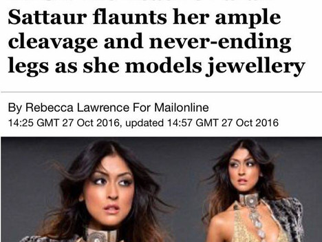 Watch out today's DailyMail with Farah and Caroline Azzi latest Designs!!