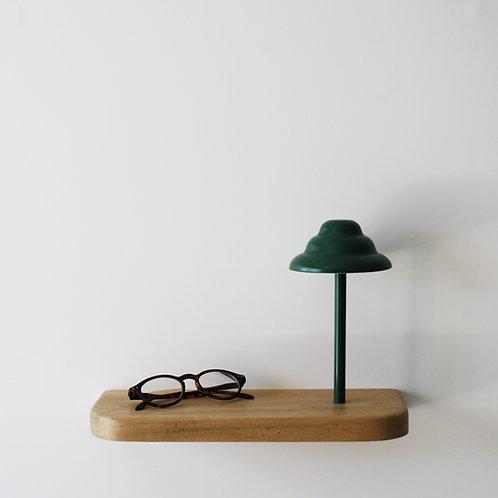 ARTIK L Shelf and lamp
