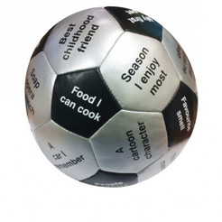 Throw & Tell Conversation Ball