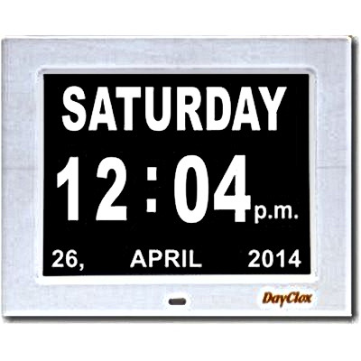 Dayclox Digital Calendar Day and Dte Clock
