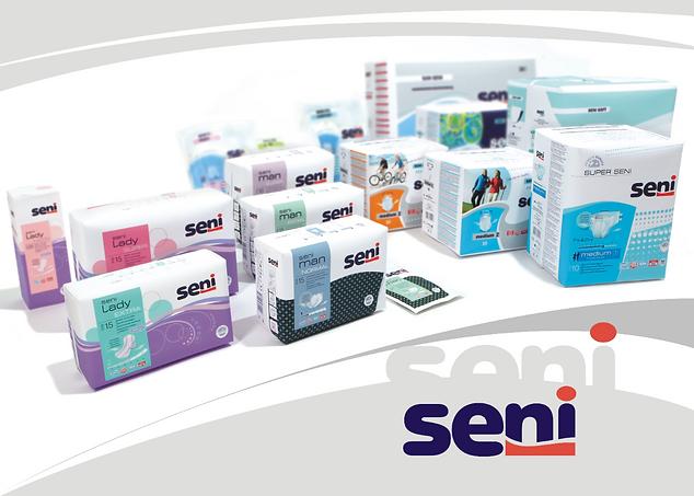 The Seni incontinence product range