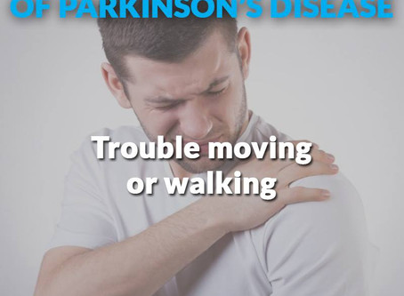 Early warning signs of Parkinson's Disease