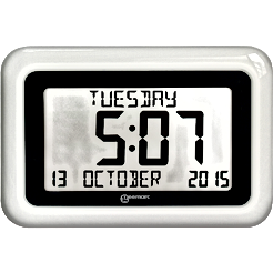 Battery Powered Day Clock