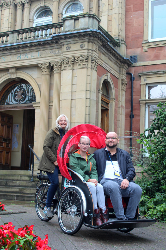 The trishaw bike is here in Penrith!