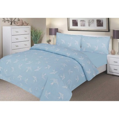 Waterproof Duvet Set - Blue Swallow