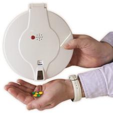 Lockable Automatic Pill Dispenser