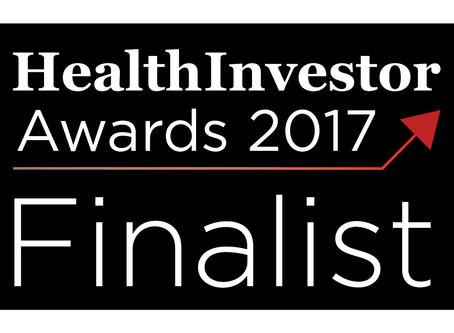HealthInvestor Finalist!