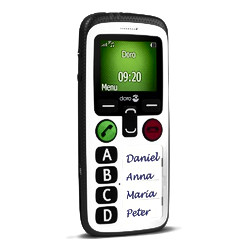 DORO Secure 580 with GPS