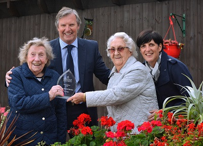 Assisted living facility awarded for garden makeover