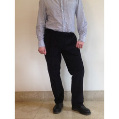 Men's Elasticated Waist Cord Trousers