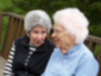 Senior mother and daughter - provide assistance tailored to your situation
