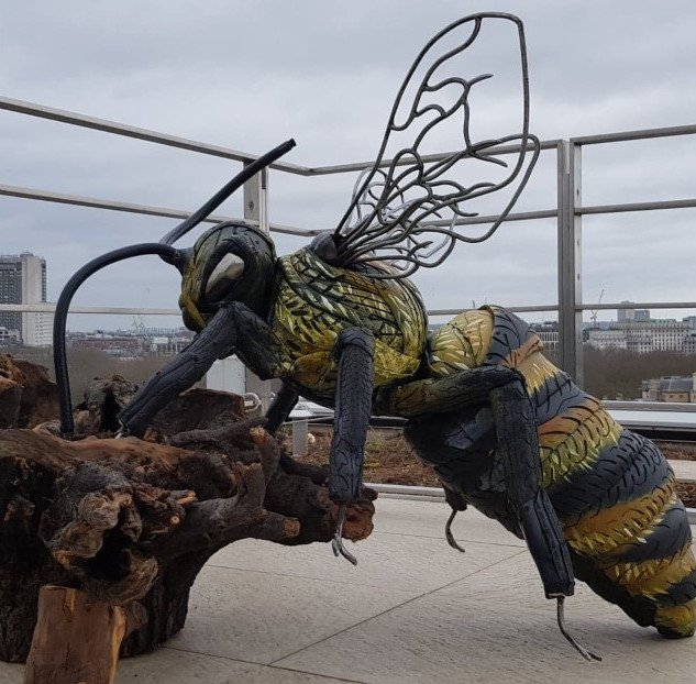 Sculptural Planter of Honey Bee