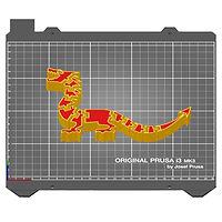 Flexi Dragon slice in Prusa Slicer