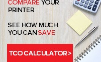 How much can your office SAVE. Compare your printer's running costs