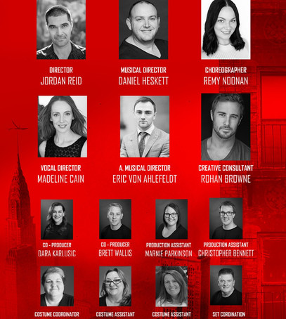 Introducing the creative team for West Side Story