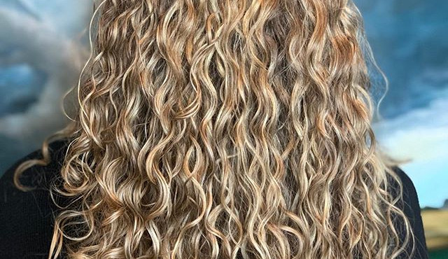 Who doesn't love  a curly hair before an