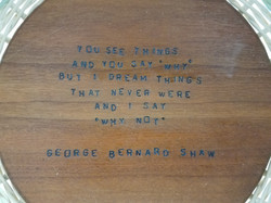 Tapestry Basket - Shaw Quote detail