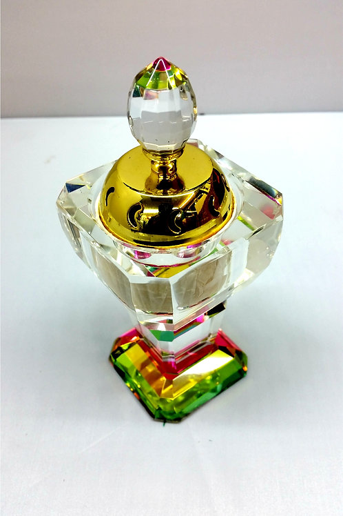 New Crystal Decorative Incense Bakhoor Oil Burner