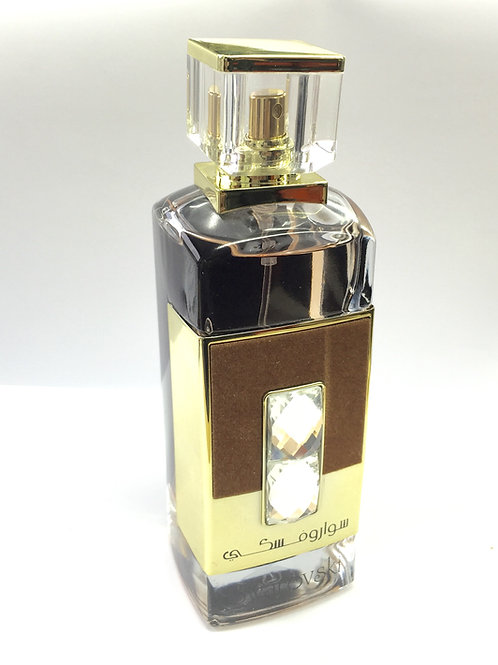 Swarovski gold 100ml Eau da parfum spray fragrance