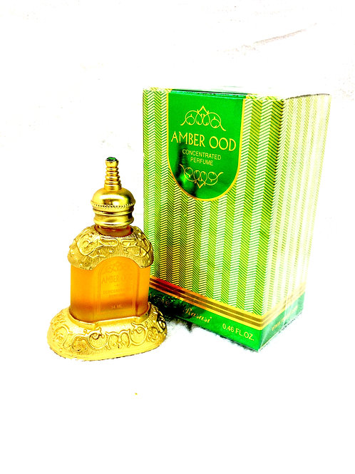 Amber Ood By Rasasi Attar Perfume Oil 14ml