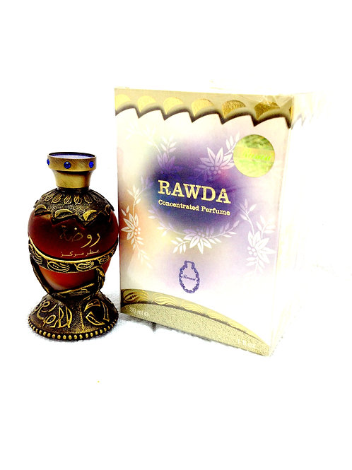 Rawda By Rasasi Attar Perfume Oil 30ml