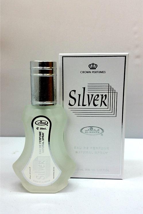 Silver By Al Rehab 35ml Perfume Spray