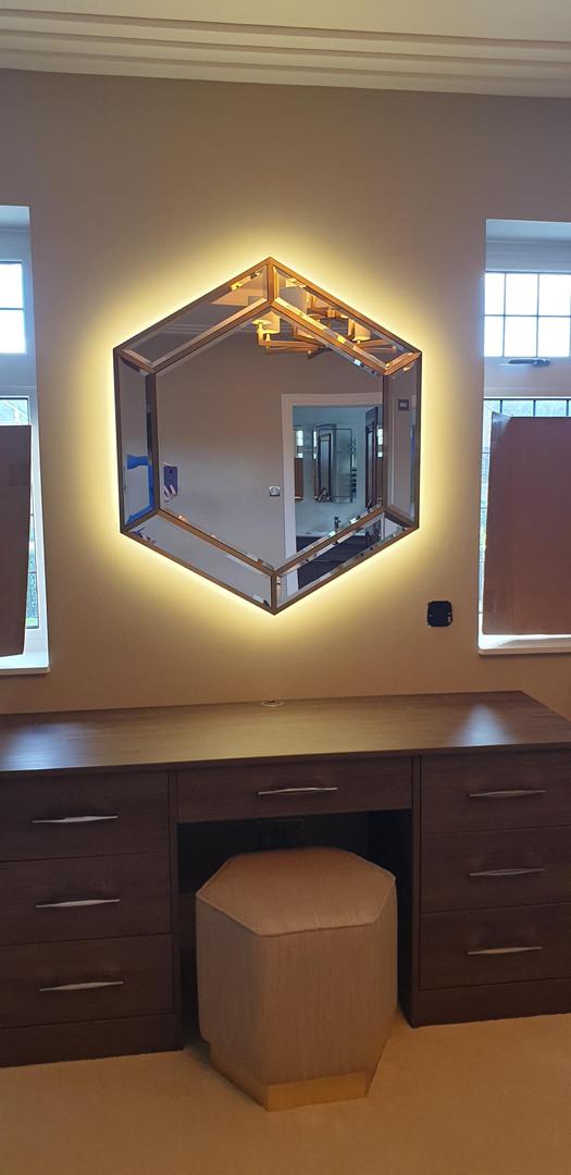 Halo Mirror Lighting
