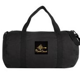 Nyasia Chane'l  black weekender duffel bag