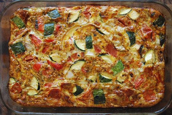 summer vegetables pashtida