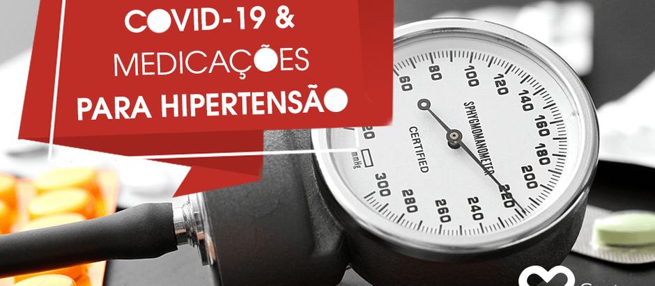 COVID-19 e Medicações para Hipertensão