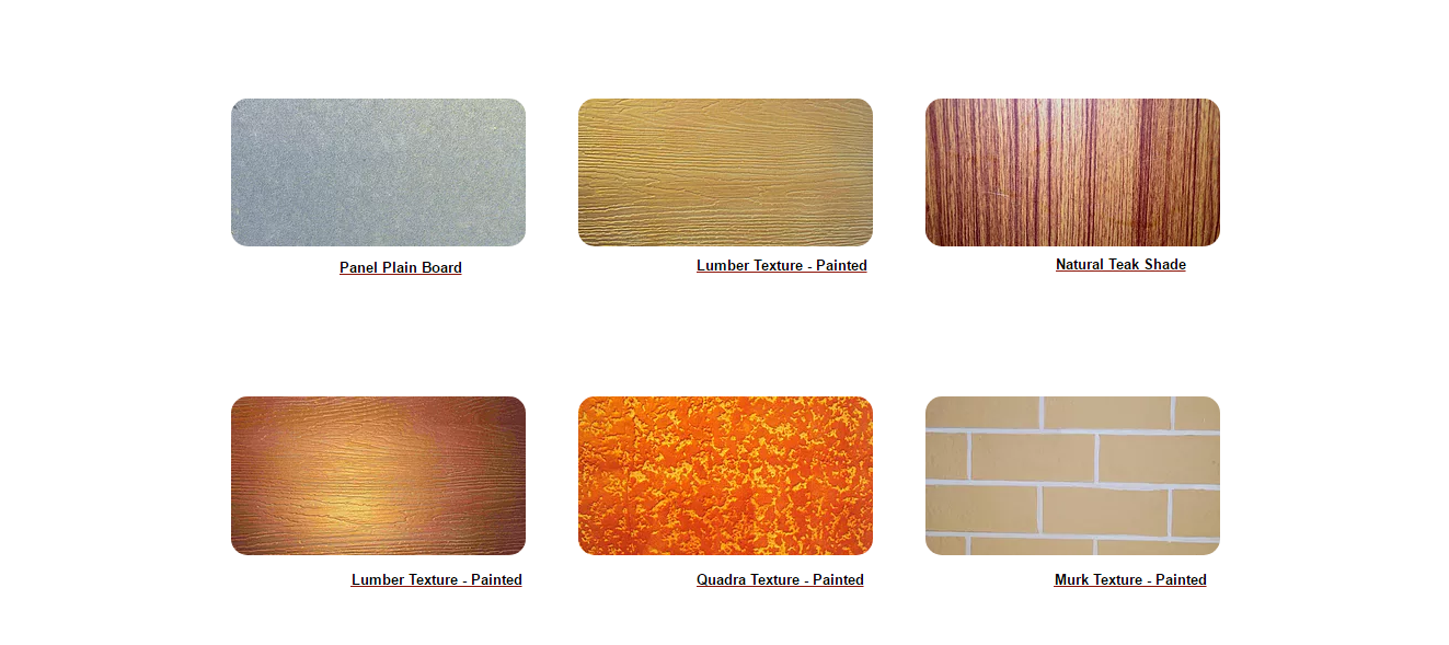 Designer Cement Bonded Particle Board