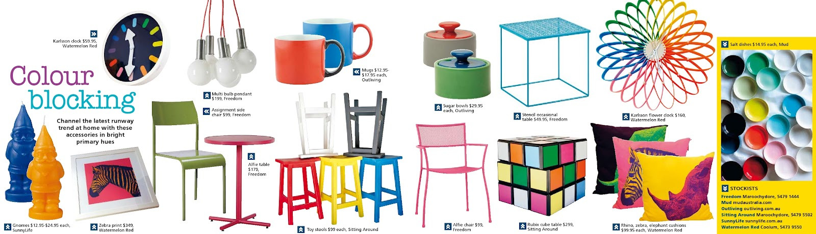 colour block